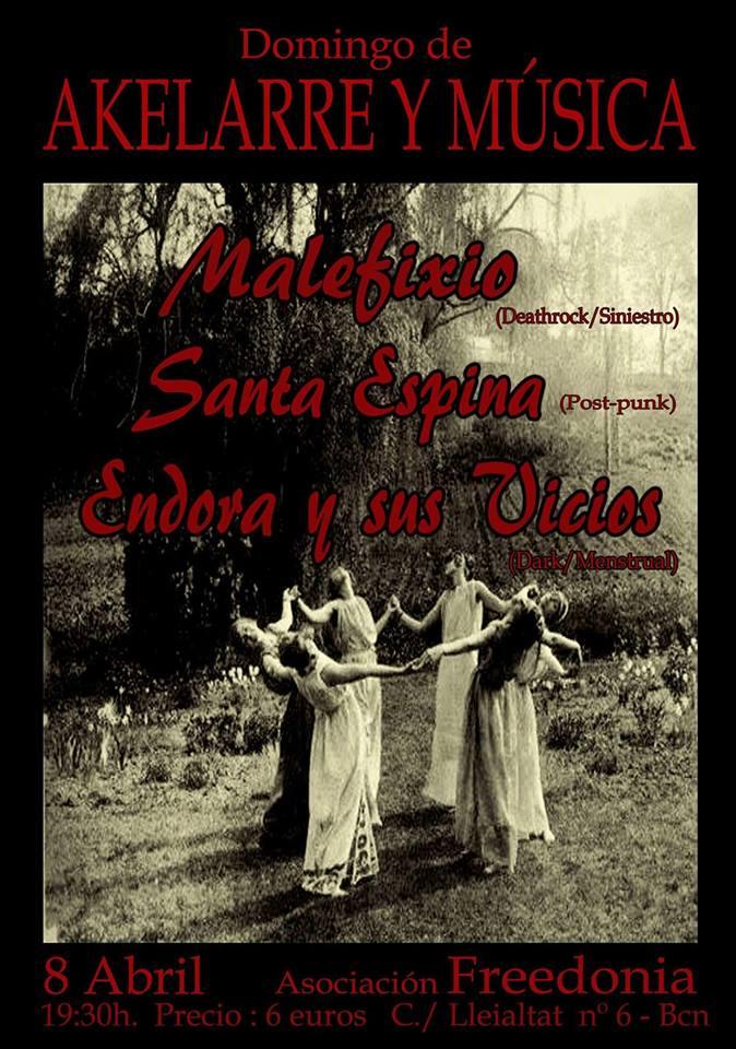 flyer concierto en Freedonia