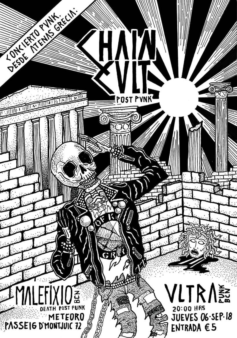 Chain Cult Ultra Malefixio flyer